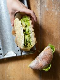 Sandwich bien monté Monsieur Victor